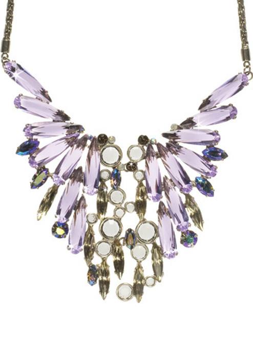 SORRELLI RHAPSODY WINGING IT CRYSTAL NECKLACE- NCN18ASRHP