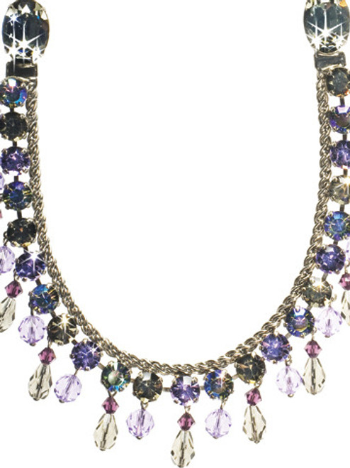 SORRELLI RHAPSODY NEVER TOO MUCH SHINE NECKLACE- NCM3ASRHP