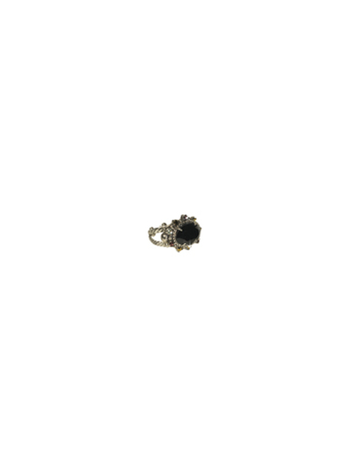 Sorrelli AFTER MIDNIGHT- Crystal Eclipse Ring~ RCK14ASAFM