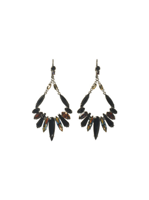 Sorrelli AFTER MIDNIGHT- Frosted Icicles Earrings~ ECN26ASAFM