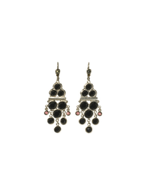 Sorrelli AFTER MIDNIGHT- Crash The Party Earrings~ ECN8ASAFM
