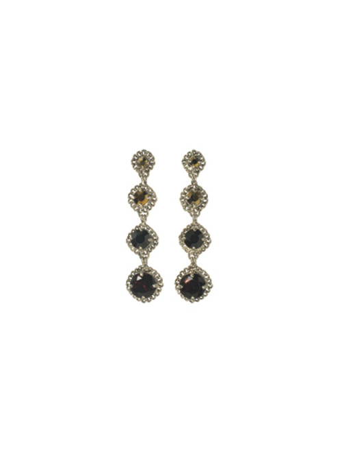 Sorrelli AFTER MIDNIGHT- Drop Everything Earrings~ ECN36ASAFM