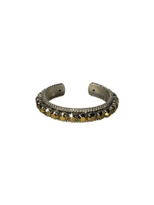 Sorrelli AFTER MIDNIGHT~ Quintessential Woven Cuff Bracelet~ BCN1ASAFM