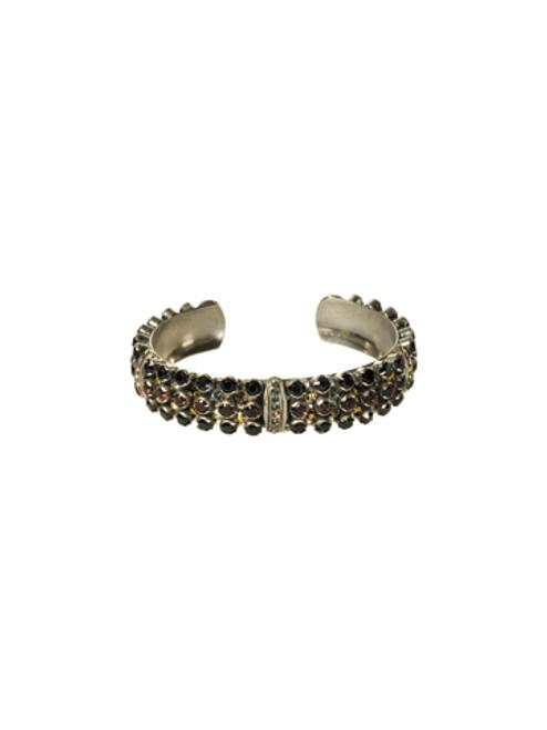 Sorrelli AFTER MIDNIGHT- Crystal Cuff Bracelet ~ BCN20ASAFM