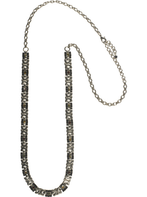 Sorrelli AFTER MIDNIGHT- Swagger with Sparkle Necklace ~ NCN4ASAFM
