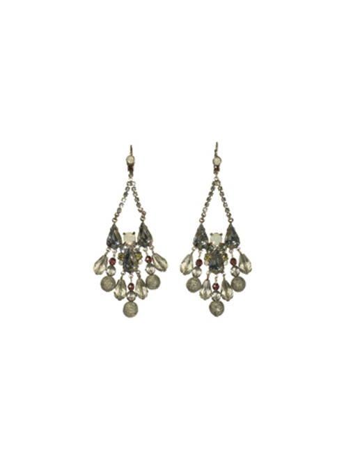 SORRELLI CONCRETE JUNGLE CRAVING CRYSTAL EARRING -ECM50ASCJ