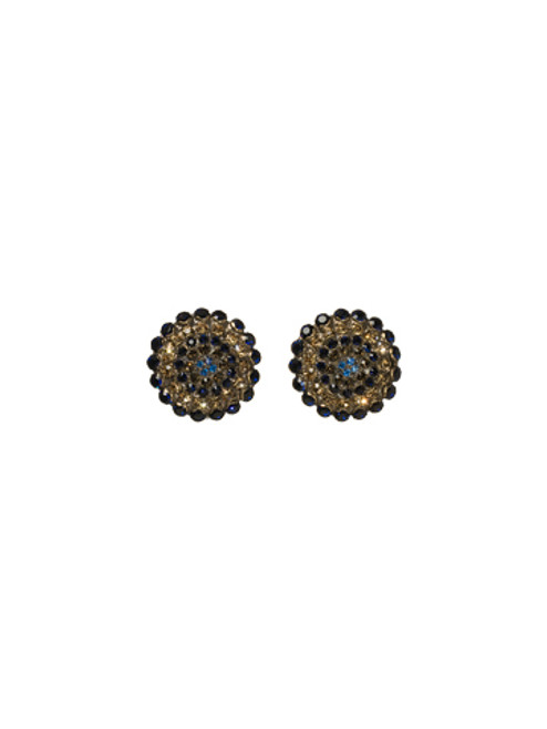SORRELLI BLUE JEAN DREAM CLIP EARRINGS-ECK1CAGBJD
