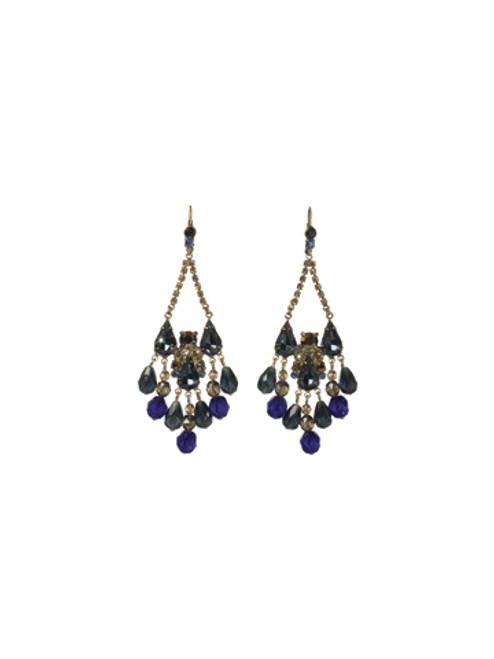 Sorrelli Blue Jean Dream Earrings ~ECM50AGBJD