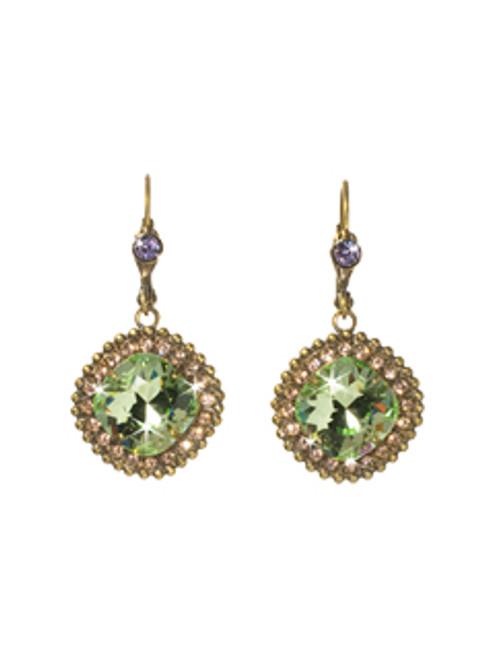 Sorrelli Sweet Dreams- Cushion-Cut Drop Dangle Crystal Earrings~ ECB20AGSWD