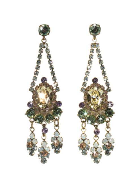 Sorrelli Sweet Dreams ~Crystal Chandelier Earrings~ EBP52AGSWD