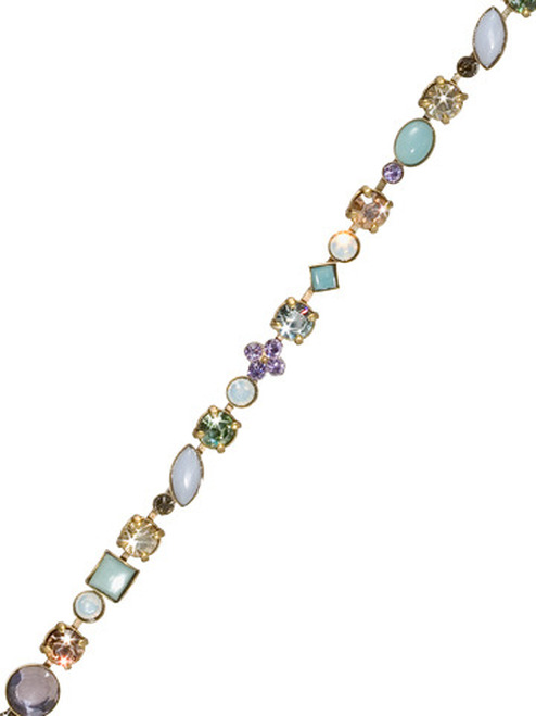 Sorrelli Sweet Dreams - Crystal and Cabochon Tennis Bracelet~ BAQ3AGSWD