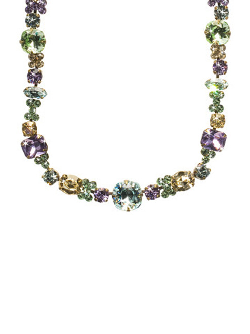 Sorrelli Sweet Dreams - Classic Clover Crystal Necklace~ NCD2AGSWD