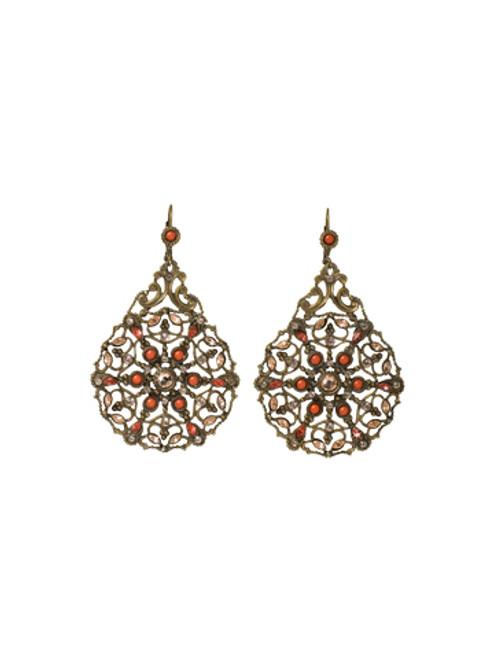 Sorrelli Andalusia- Dream Catcher Earrings~ EBX25AGAND