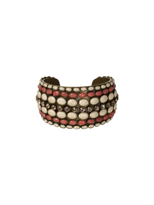 Sorrelli Andalusia- Retro Disk Cuff Bracelet~ BCL9AGAND