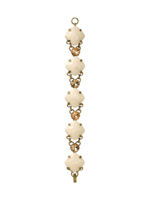 Sorrelli Andalusia- Divinely Diamond Bracelet~ BCL7AGAND