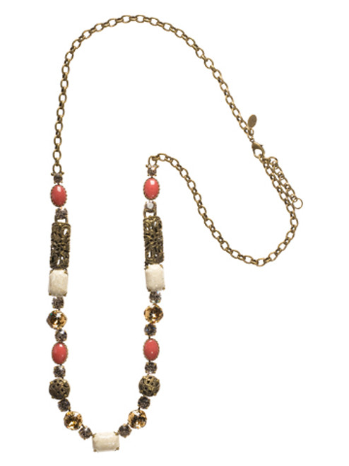 Sorrelli Andalusia- On The Edge Necklace~ NCL4AGAND