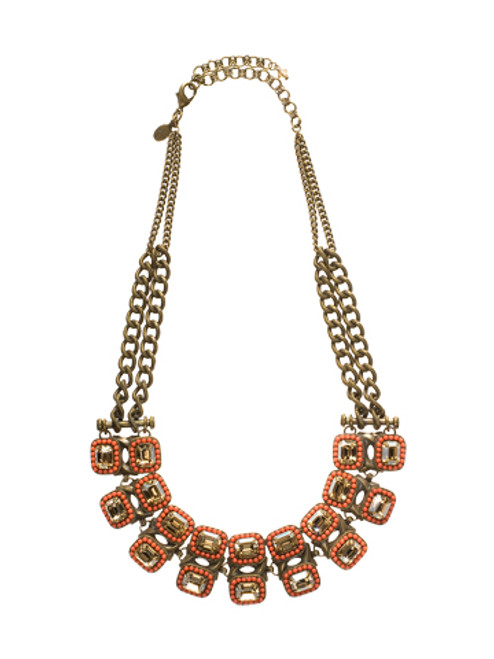 Sorrelli Andalusia- Stunning Symmetry Bib Necklace~ NCL5AGAND