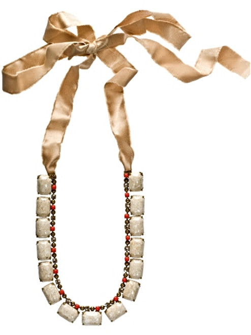 Sorrelli Andalusia- Set In Stone Necklace~ NCL17AGAND