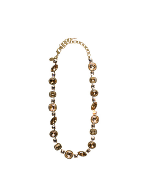 Sorrelli Andalusia- Cushion Cut Necklace~ NBX10AGAND