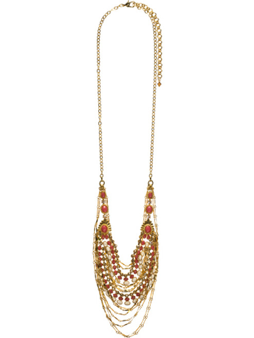 Sorrelli Andalusia- Loads of Layers Bib Necklace ~ NCL8BGAND