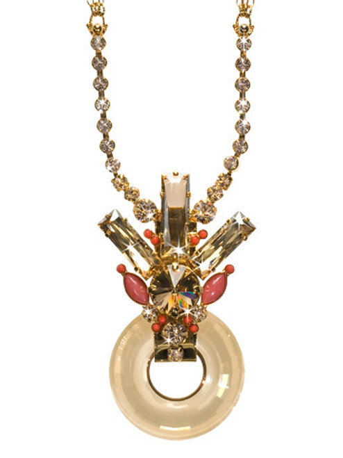 Sorrelli Andalusia- To The Point Pendant Necklace~ NCL1BGAND