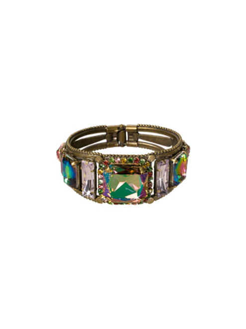 Sorrelli Hibiscus- Lovely Luxury Cuff Bracelet~ BCL10AGHIB