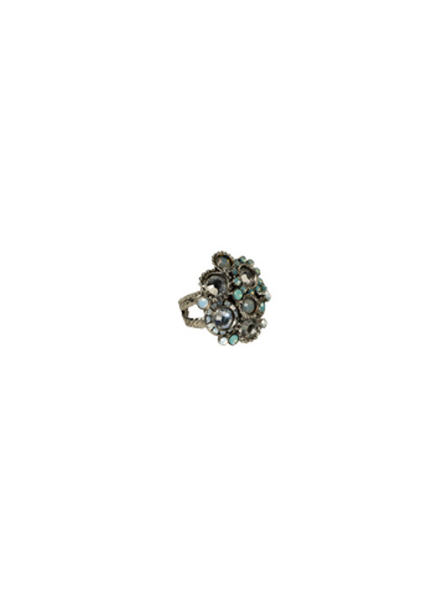 Aegean Sea Crystal Ring BY SORRELLI RCE2ASAES