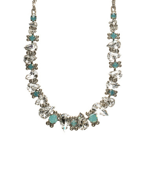 AEGEAN SEA CRYSTAL NECKLACE BY Sorrelli NCK13ASAES
