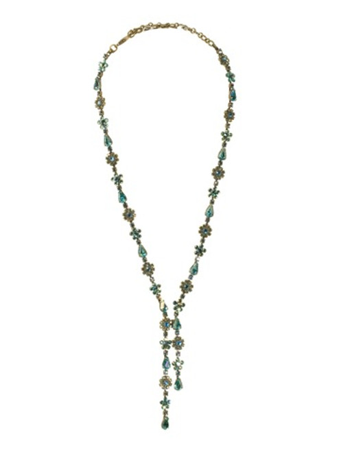 Sorrelli Aqua Bubbles Crystal Necklace NBP29Agaqb