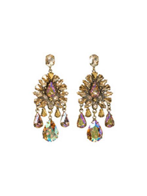 Raw Sugar Crystal Earrings