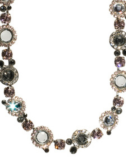 SORRELLI FRENCH BLUSH CRYSTAL NECKLACE NCE12ASFB