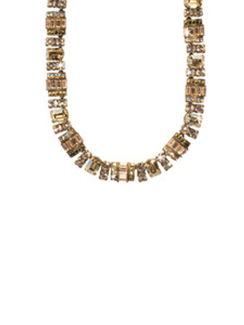 SORRELLI RAW SUGAR CRYSTAL NECKLACE NBZ44AGRSU