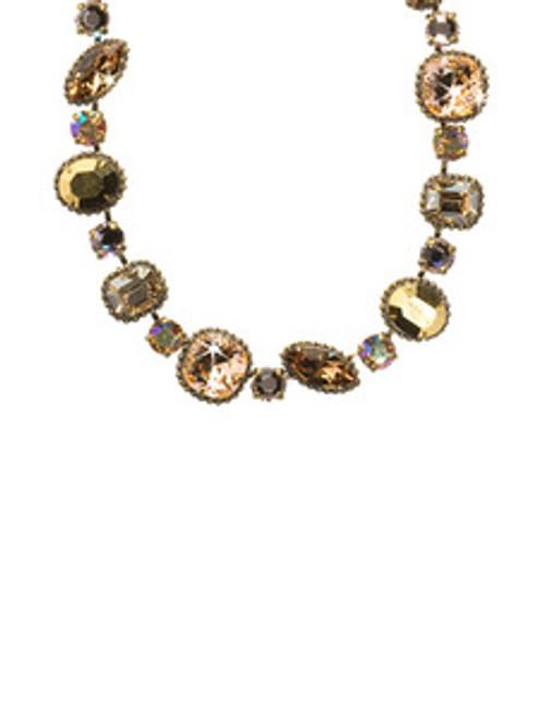 Raw Sugar Crystal Necklace nbx10agrsu