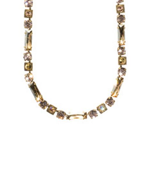 SORRELLI RAW SUGAR CRYSTAL NECKLACE NCD66AGRSU