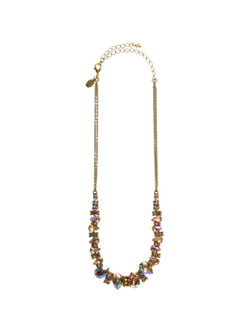 Full View SORRELLI RAW SUGAR CRYSTAL NECKLACE NCK13AGRSU
