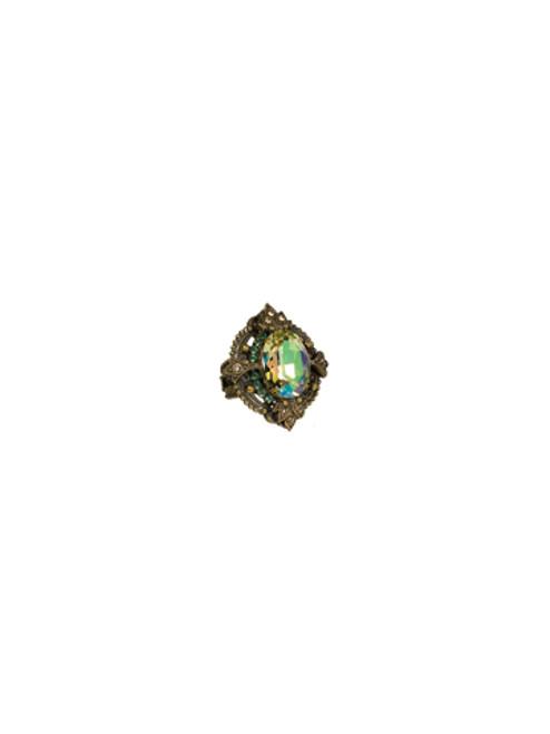 Sorrelli Water Lily -Duchess Ring- RCJ27AGWL