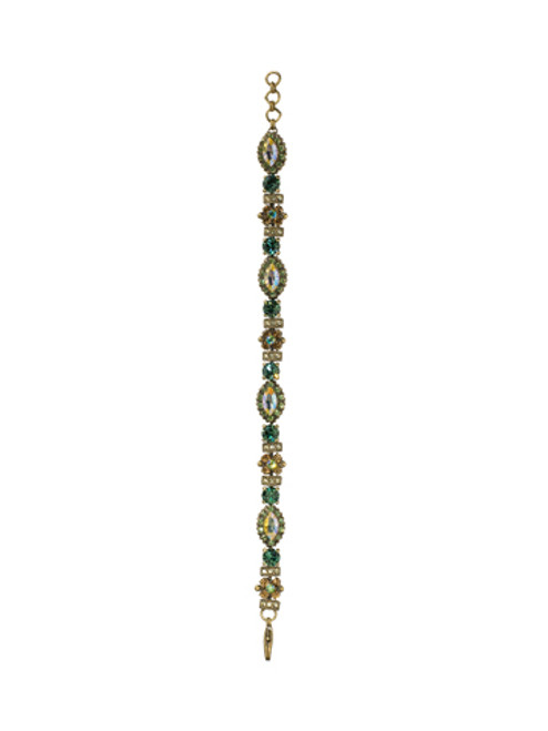Sorrelli Water Lily- Almond Crystal Bracelet~ BCJ12AGWL