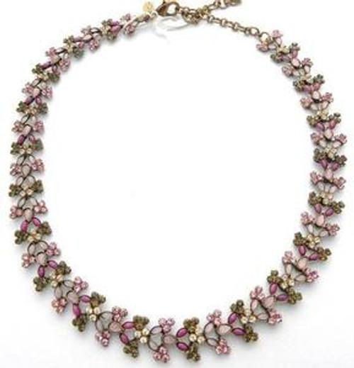 Sugar Frost Swarovski Crystals Necklace