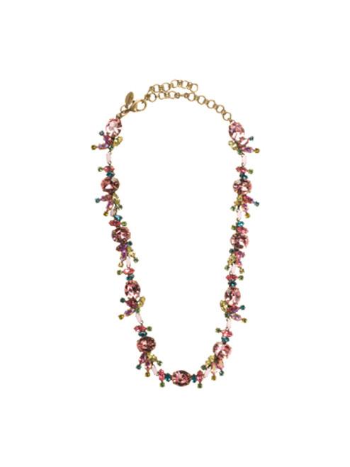Sorrelli Happy Birthday Swarovski Crystal Necklace NBM1AGHB