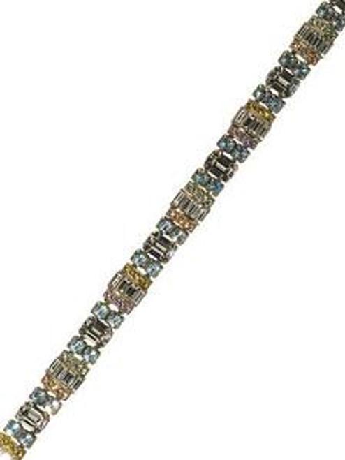 Sorrelli Running Water Crystal Bracelet