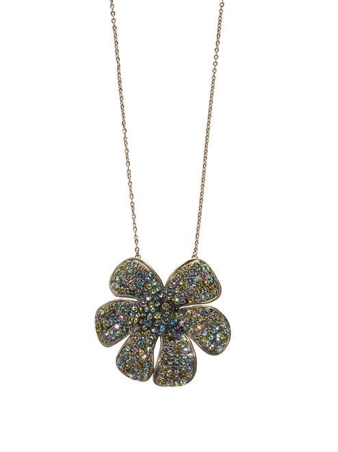 sorrelli running water crystal necklace ncg15asrw