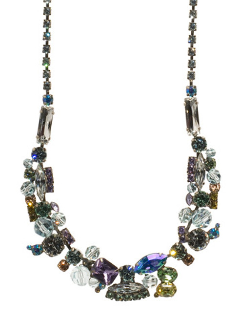 Sorrelli Running Water Crystal Necklace NCE1ASRW