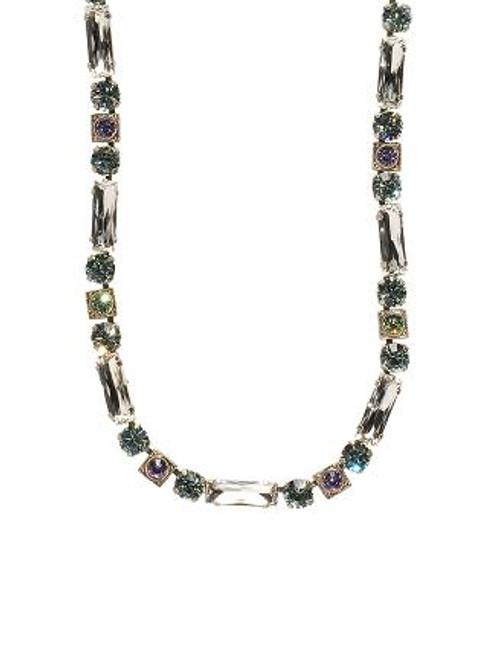 Sorrelli Running Water Crystal Necklace NCD66ASRW
