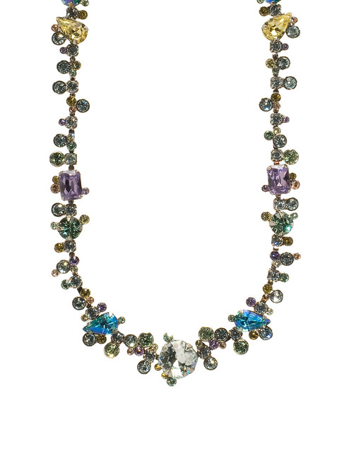 Sorrelli Running Water Crystal Necklace NCC11ASRW