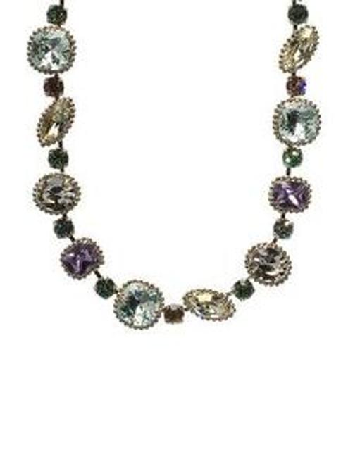 Sorrelli Running Water Crystal Necklace NBX10ASRW