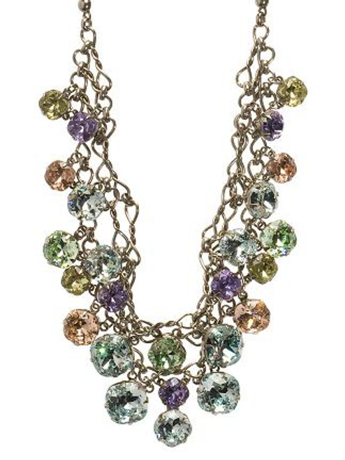 Sorrelli Running Water Crystal Necklace NCF23ASRW