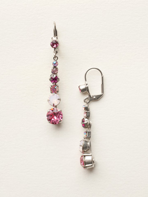 SORRELLI SWEET HEART CRYSTAL EARRINGS