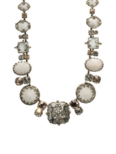 Full View SORRELLI SNOW BUNNY CRYSTAL NECKLACE NCC10ASSNB