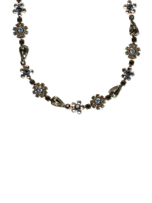 Sorrelli Milky Way Crystal Necklace NBP90ASMLW