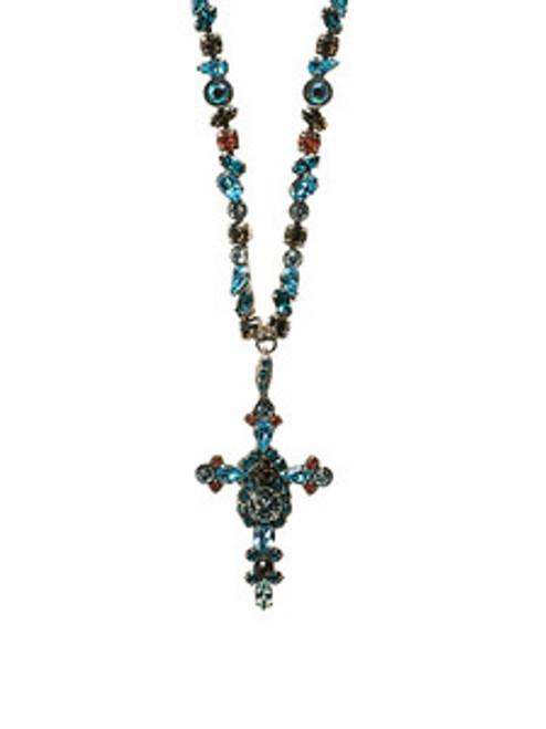 Sorrelli Sea Salt Crystal Necklace NBN22ASSES